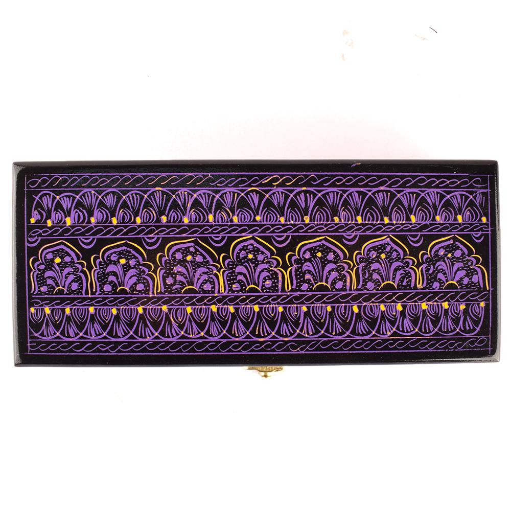 Decorous Rectangular Shaped One Piece Jewelry Box Jewellery SAK