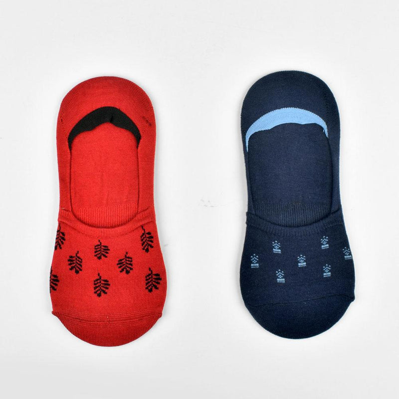 Polo Republica Pack of Two No Show Majestic Invisible Socks Socks Mouzay