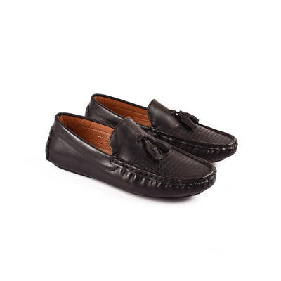 CBH Sanders Feel Good Loafers Boy's Shoes CBH Black EUR 32