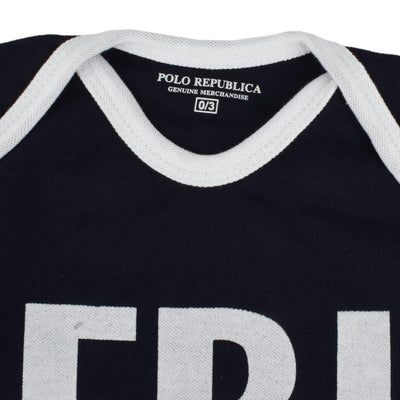 Polo Republica FBI Long Sleeve Baby Romper Babywear Polo Republica