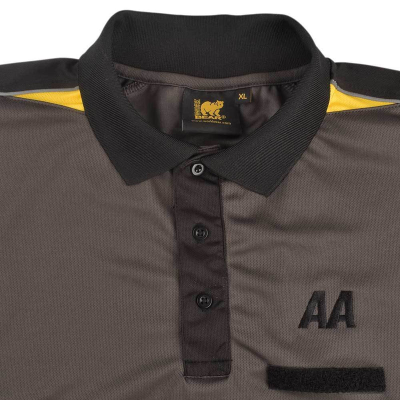 BR Bonndorf Men's Polyester Mesh Polo Shirt Men's Polo Shirt Image XS