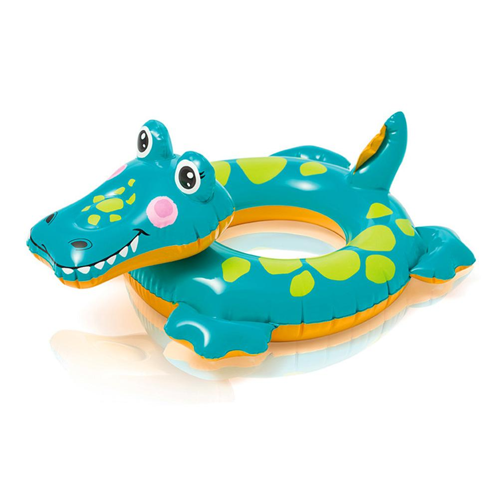 Intex Cartoon Shape Swimming Tube Inflatable Toy Sunshine China Crocodile
