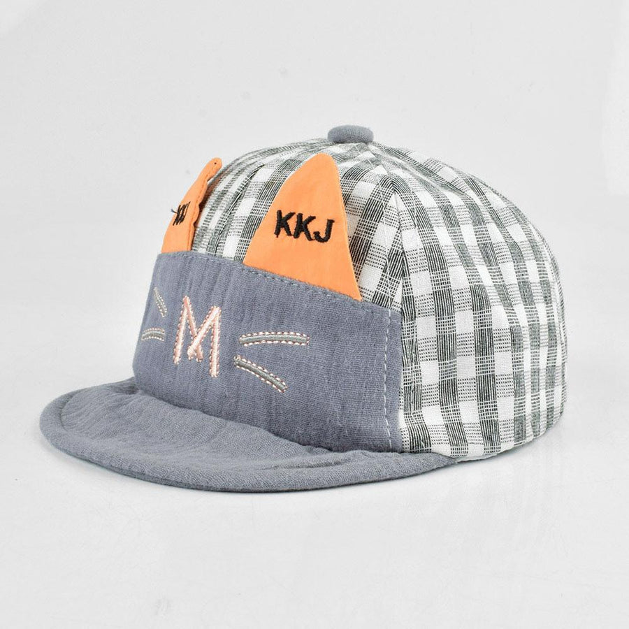 KKJ Meow Soft Fabric Kids P Cap