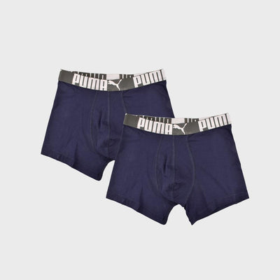 PMA Pack Of Two Men's Boxer Shorts Men's Underwear AGZ Navy S