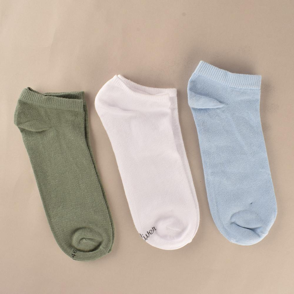 Polo Republica Unisex Assorted Pack Of Three Dress Anklet Socks Socks Mouzay EUR 35-38