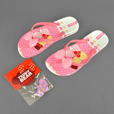 Women's Teddy Bear Collection Santos I Am Hero Flip Flops Women's Shoes Sunshine China
