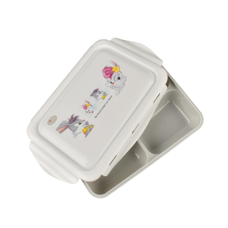 Takelsa Three Compartments Lunch Box With Spoon