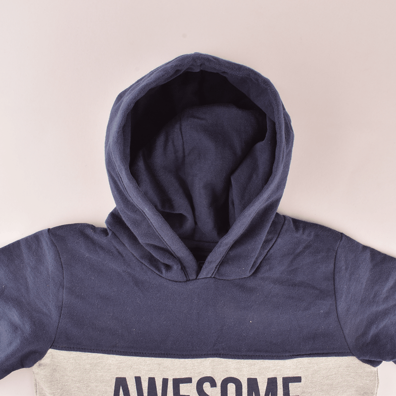 Boy's Awesome Terry Pullover Hoodie