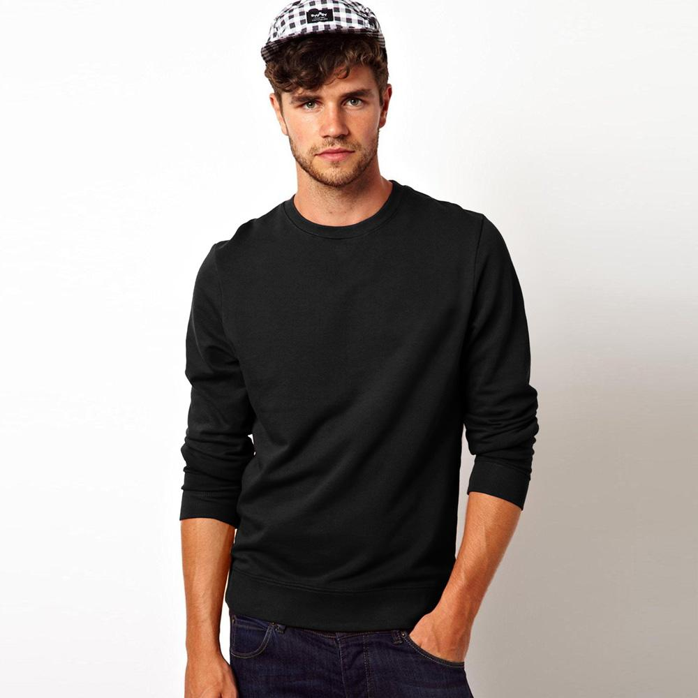 Kitrose Sweat Shirt Men's Sweat Shirt Image Black M