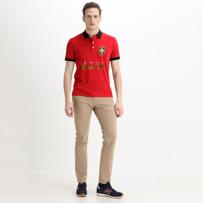 Polo Republica Brazil Champions Polo Shirt Men's Polo Shirt Polo Republica