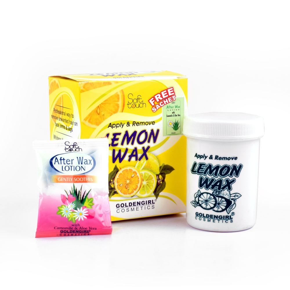 Golden Girl Soft Touch Lemon Wax Std Pack 125gm