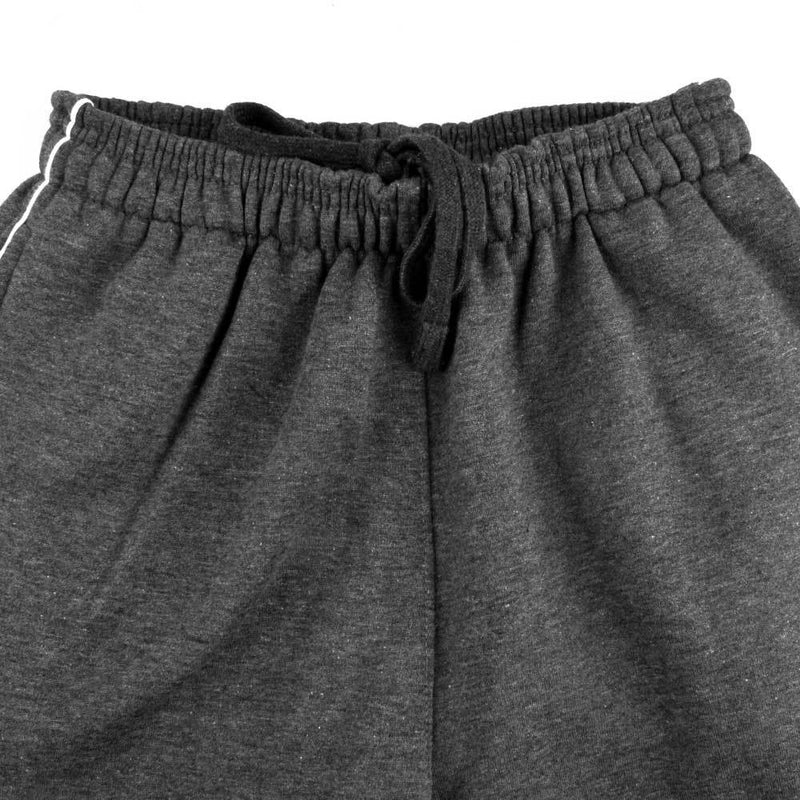 TUS Kid's Jogging Fleece Trousers Boy's Trousers Image Charcoal XS
