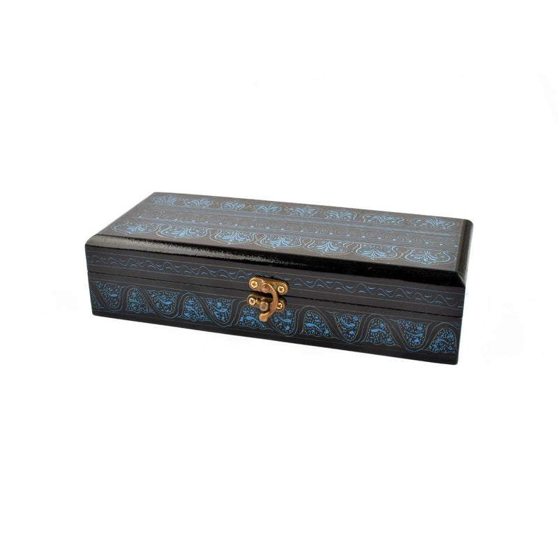 Stylish Rectangular Shaped One Piece Jewelry Box
