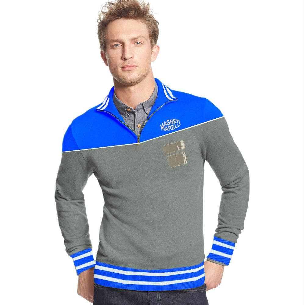 MM Men's 1/4 Zipper Sleek Sweatshirt