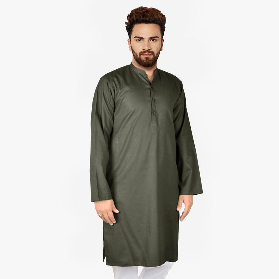 Polo Republica Avenches Wash N Wear Stitched Kurta