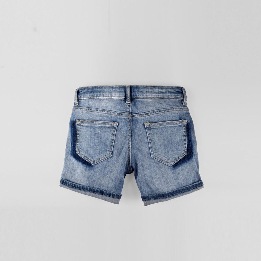 GS Hokuto Kids Stretchable Denim Shorts