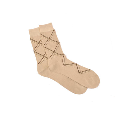 J&Co One Pair Mercerized Socks