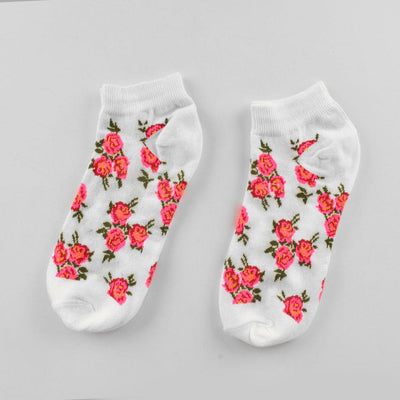 Polo Republica Women's Blossom Style Pack Of 2 Low Cut Socks Socks RKI D3 EUR 35-37