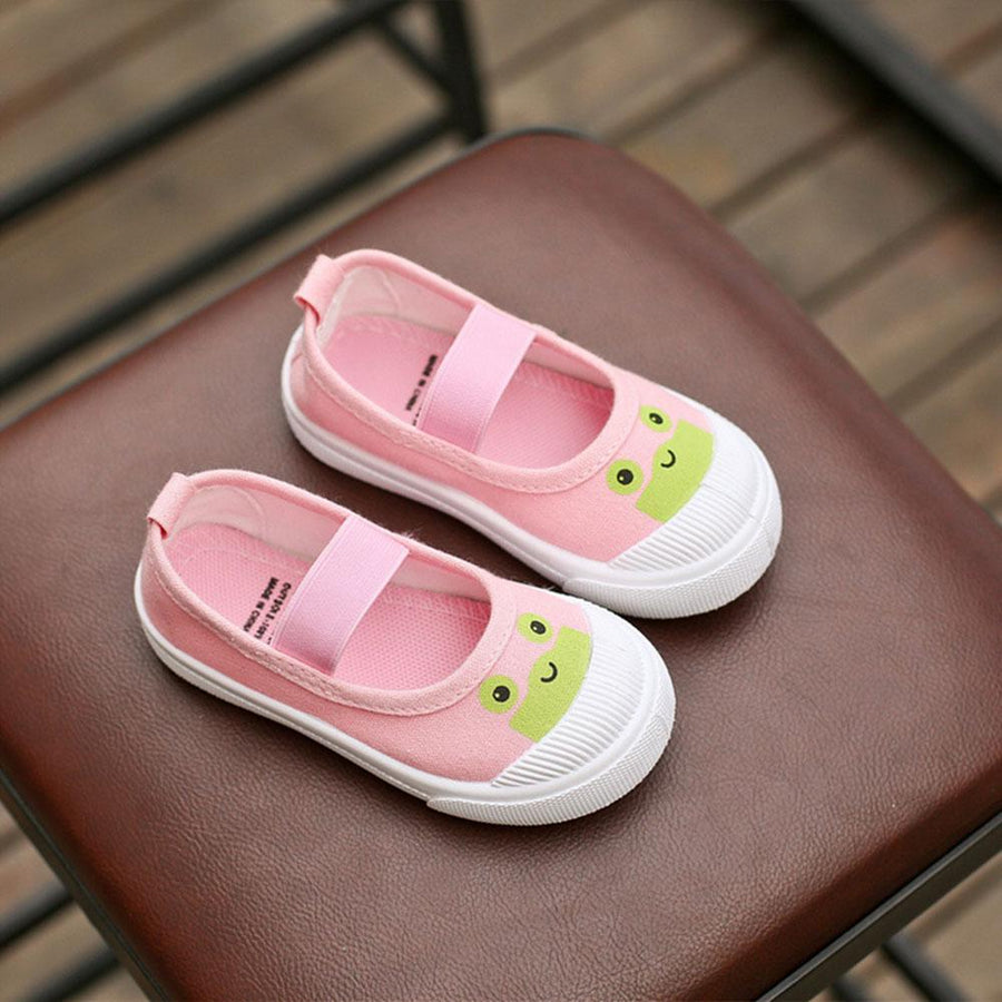 Elegant Design Kids Canvas Sandals
