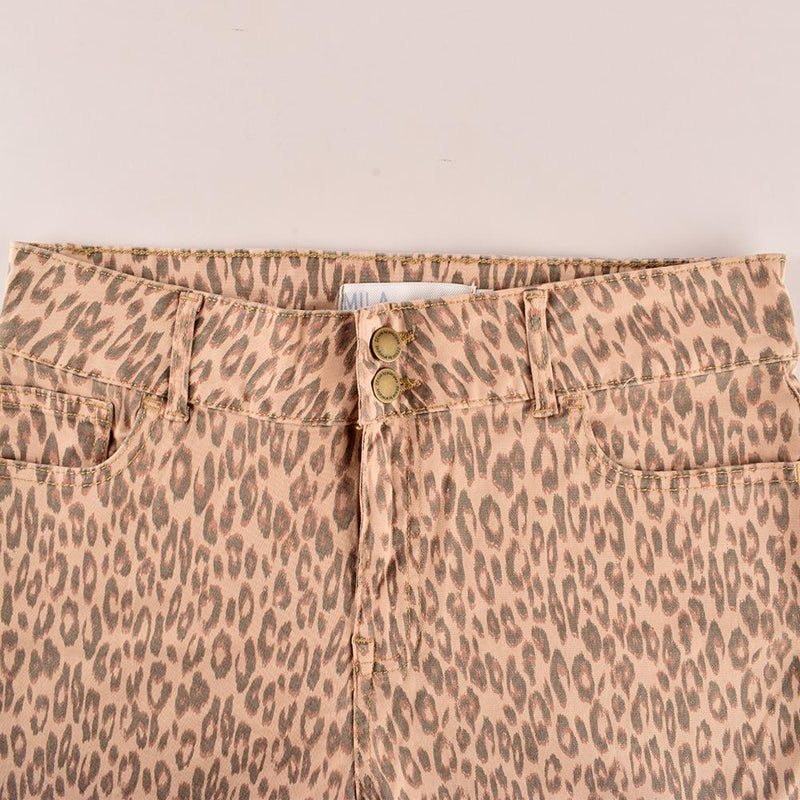 Principles Women's Leopard Printed Slim Fit Denim Women's Denim SRK 24 30