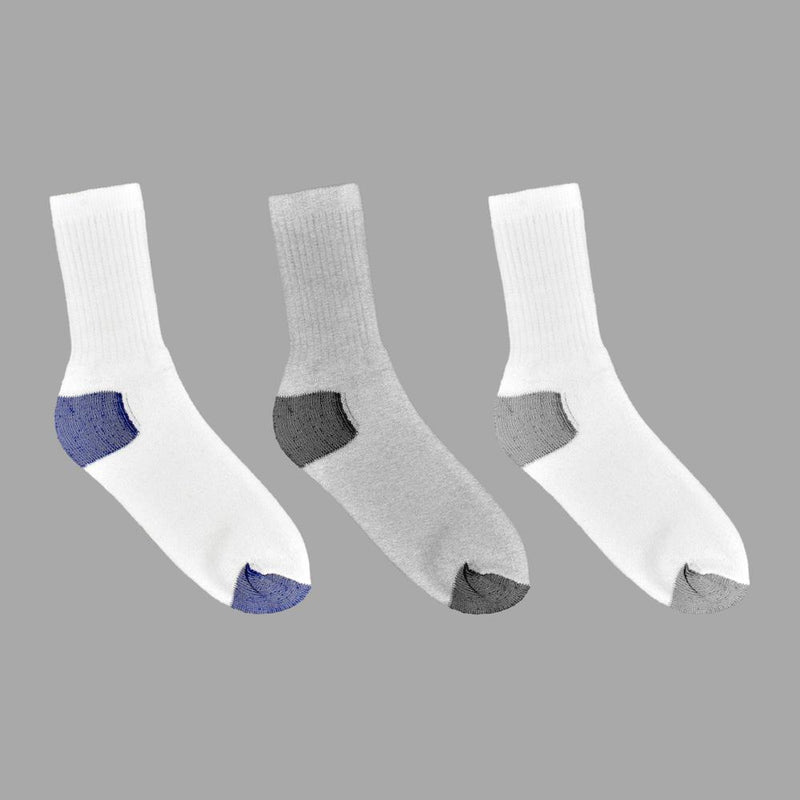 Polo Republica Sobral Men's Pack Of 3 Crew Sports Socks