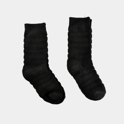Polo Republica Kid's Mild Style Pack of Two Crew Socks Socks RKI Black EUR 24-26