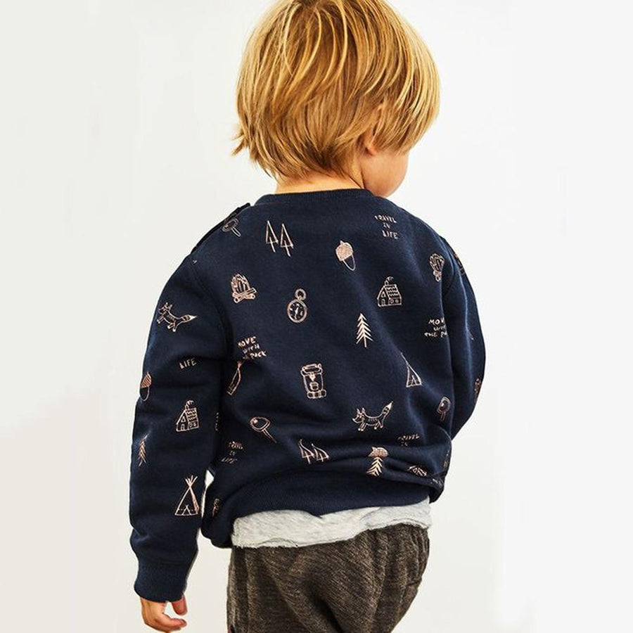 ZR Boys Forest Play Time Sweatshirt