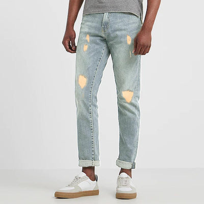 DNM Co Men's Classy Distressed Slim Fit Denim Men's Denim First Choice 30 30
