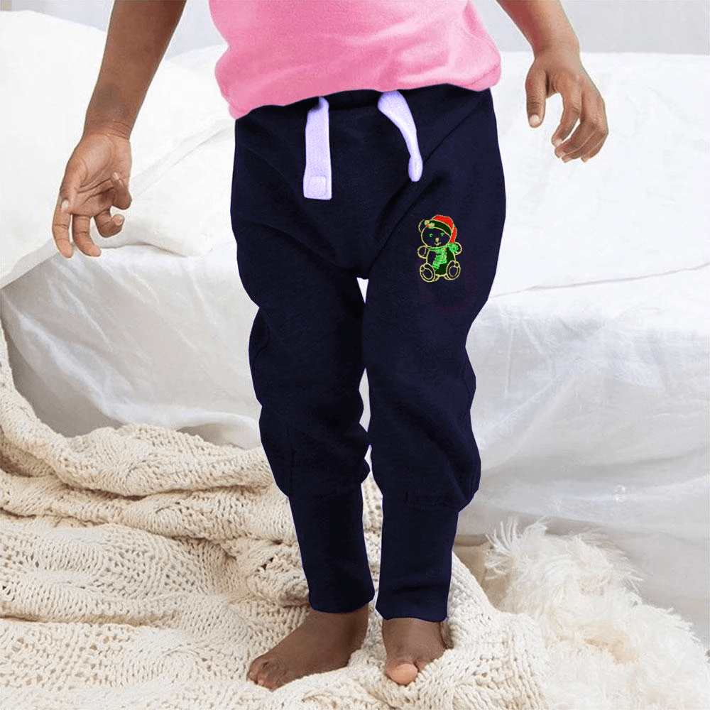 MTS Kid's Snow Man Embro Sweat Pants Boy's Sweat Pants Image Navy 12-18 Months