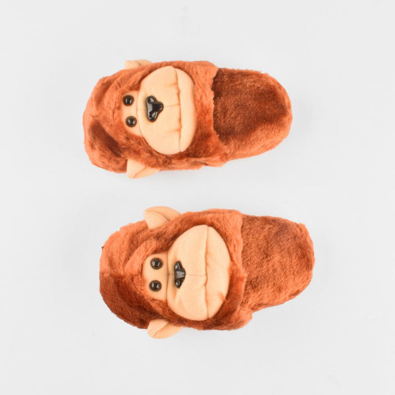 ANF Monkey Shape Plush Slippers Boy's Shoes ANF