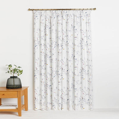 JNLS Tiever Printed One Piece Pocket Curtain Curtain MB Traders W-46 x L-54 Inches