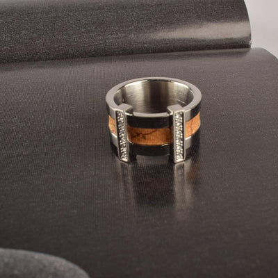 Alviero Martini JPC 800-75B Stainless Steel Ring Jewellery HDY