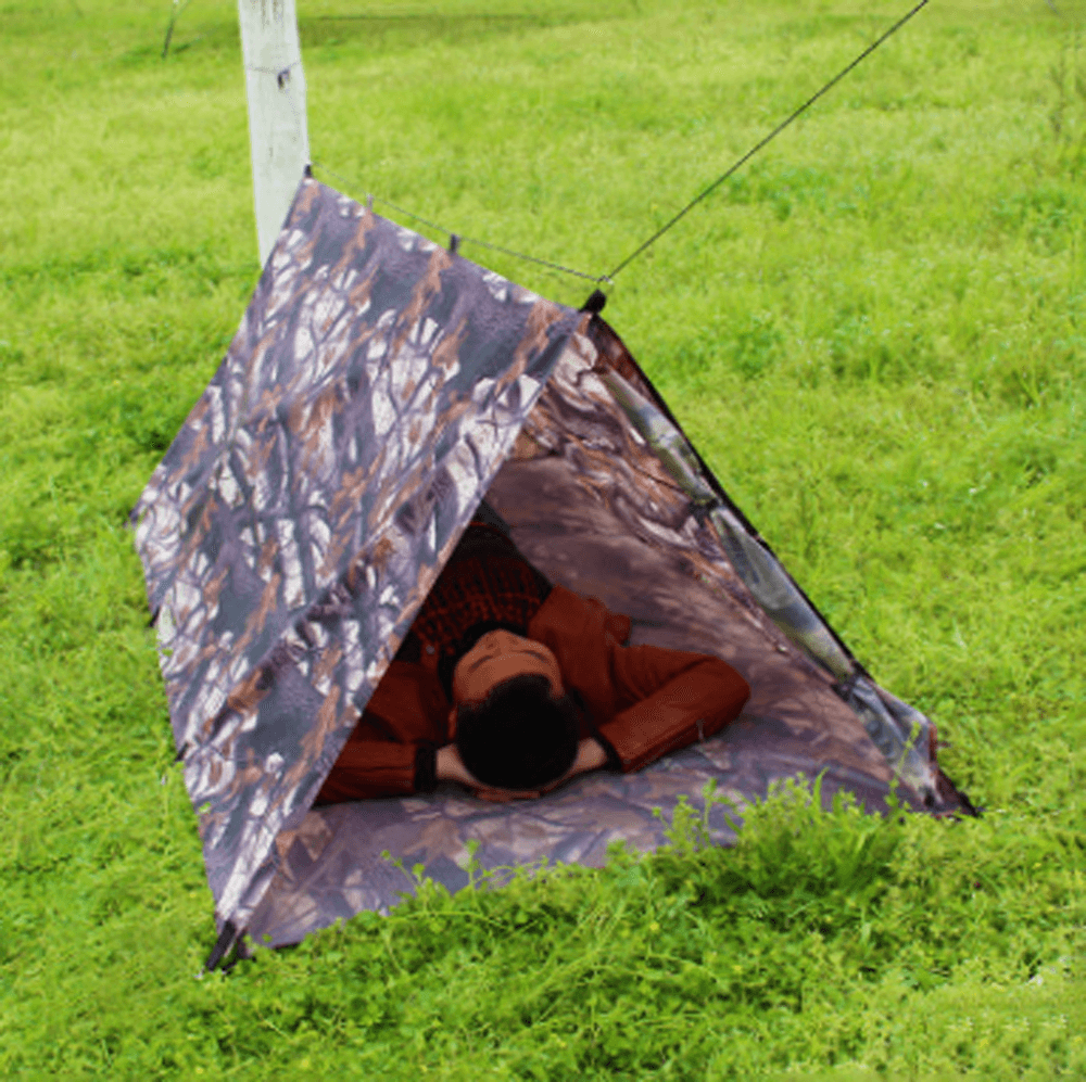 Waterproof And Moisture-proof Multi-functional Soldier Tent Pole-less Awning Castle Play Tent Sunshine China
