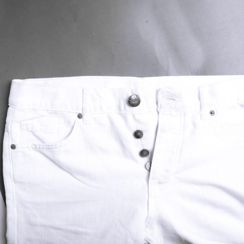 DNM & Co Men's Pedro Denim Shorts Men's Shorts SRK White 28 19