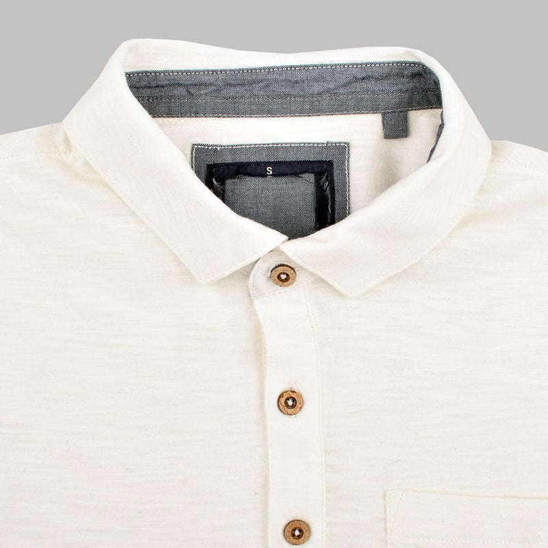Lamego Men's Cut Label Polo Shirt Men's Polo Shirt NMA White S