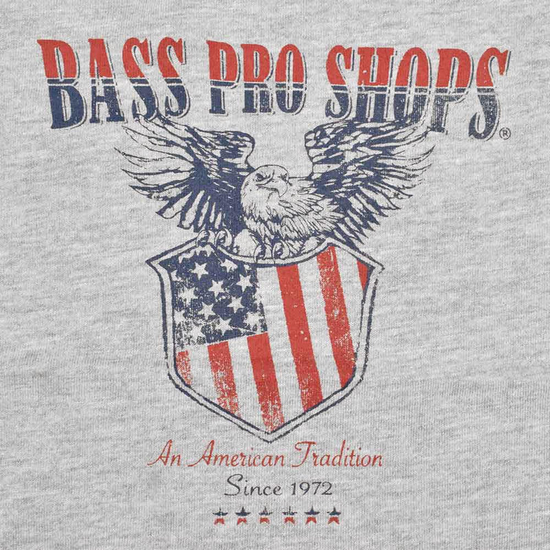 BPS American Tradition 1972 Kid's Tee Shirt Boy's Tee Shirt MAJ Heather Grey 2T