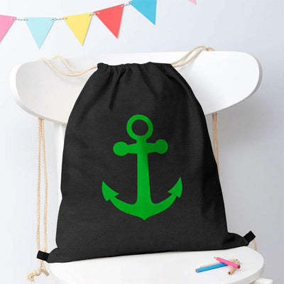 Polo Republica Ship Langar Drawstring Bag Drawstring Bag Polo Republica Charcoal Green