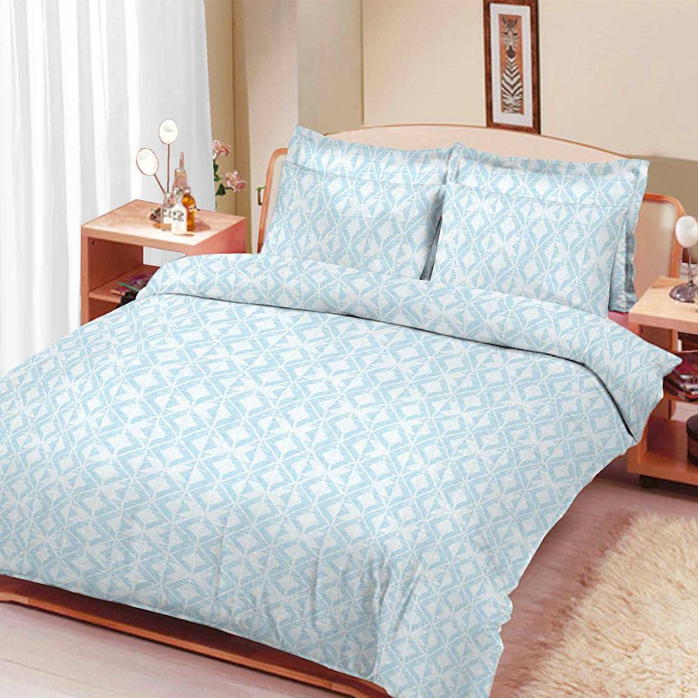 ARC Friedrichroda Double Bed Sheet Bed Sheet ARC Powder Blue