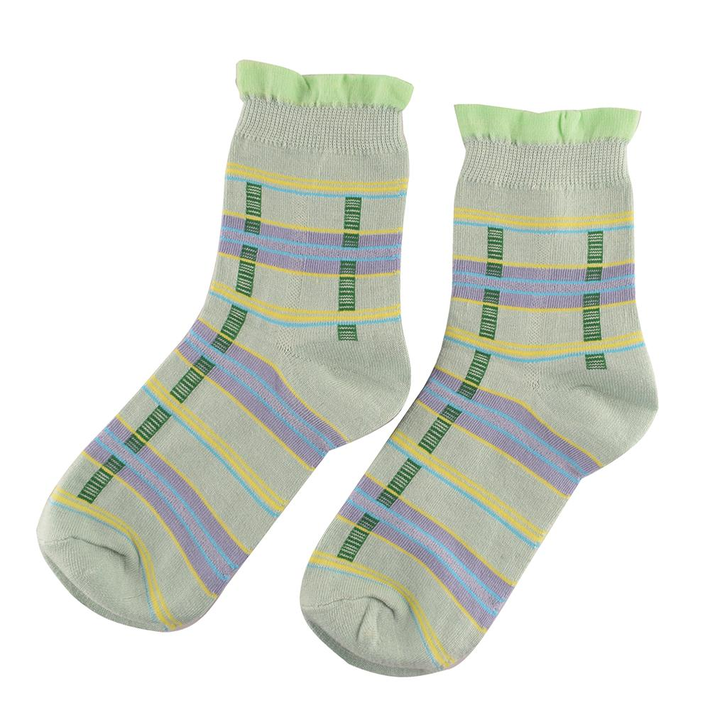 Polo Republica Women's 19-30A20 Assorted 2 Pair Crew Socks Socks RKI EUR 35-37