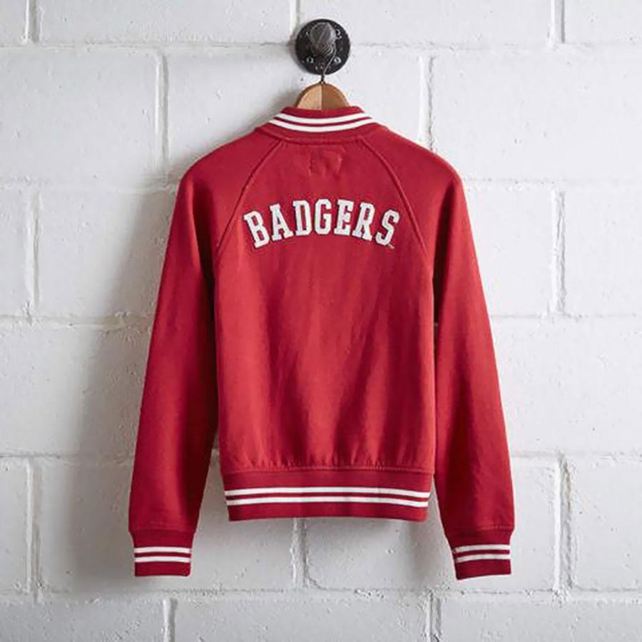 TG Badgers Women's Fleece Bomber Jacket