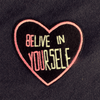 Mango Basics Believe in yourself Women's Terry Swear Shirt Women's Sweat Shirt SRK