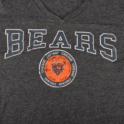 TMAL Chicago Bears Short Sleeve V-Neck Tee Shirt Women's Tee Shirt MAJ