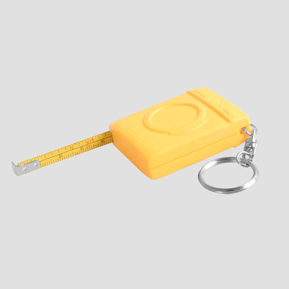 2-in one Laredo Measure Tape and Stainless Steel Key Chain