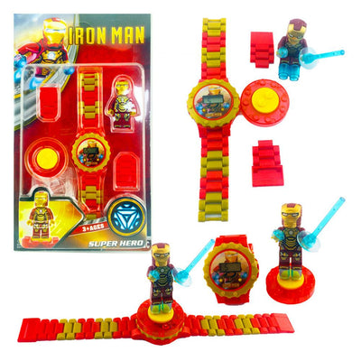 Anime Fiugres Blocks Digital Watch Stationary & General Accessories Sunshine China Iron Man