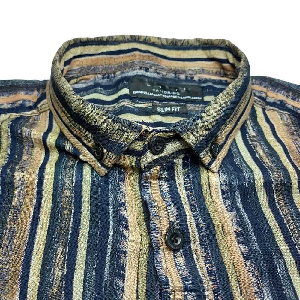 SRT Men's Janson Printed Casual Shirt Men's Casual Shirt SRK Blue S