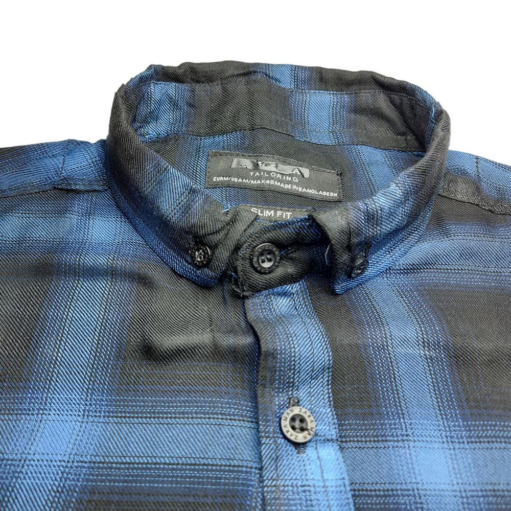 SRT Men's Nyman Checkered Casual Shirt Men's Casual Shirt SRT S