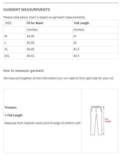 Tom & Rose Men's Exclusive 52 Jogger Pant Men's Jogger Pants SRK