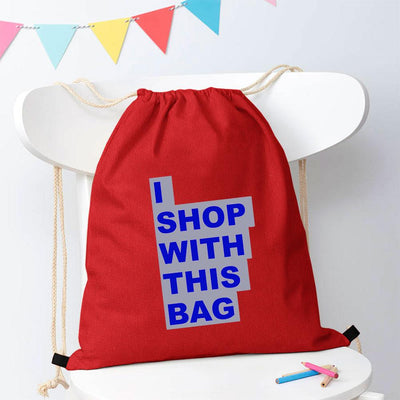 Polo Republica Shop With This Bag Drawstring Bag Drawstring Bag Polo Republica Red Royal