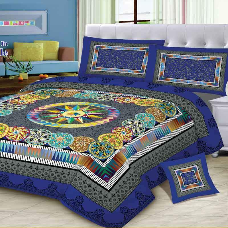 MGN Hendrix 4 Pcs King Size Bed Sheet Set