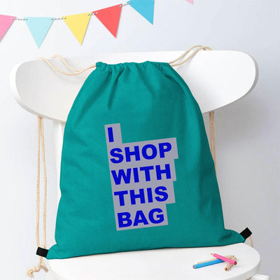 Polo Republica Shop With This Bag Drawstring Bag Drawstring Bag Polo Republica Dark Turquoise Royal